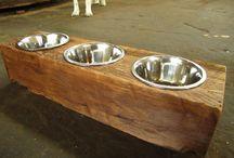 Dog Greyhound - dog bowls