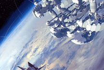 Space: The Final Frontier / A collection of images depicting the wonders and possibilities of outer space!