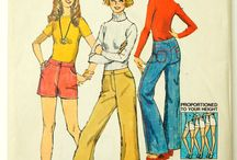 1970s womens sewing patterns