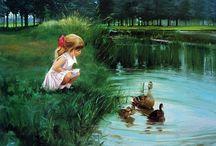 Festmények, rajzok (Painting)