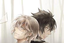 Aoharu x Kikanjuu/D.Gray-man