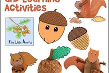 Acorn Crafts and Learning Activities for Home School