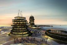 Real Madrid Resort Island / Project for a resort on an artificial island in Ras Al Khaimah (UAE)