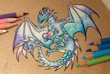 Dragon dessins