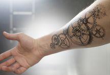 tatouage rouage