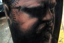 Tattoos of Paul Booth
