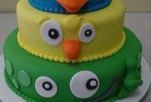 Meus bolos pasta americana infantil ☺