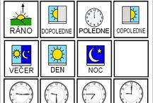 Kartičky - čas