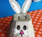 artesanato com caixas ovos