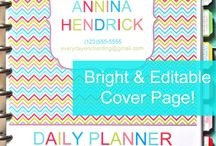 Planner Ideas / by Jacque Stanwood