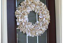I ❤️ rag wreaths