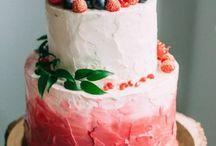 Свадебные торты / Вкусные и оригинальные свадебные торты
