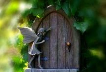 FAIRIES ,Little people & Magical  / by wiganfootie Sue