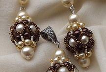 pärlor örhänge