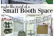 Small Antique Booth Displays