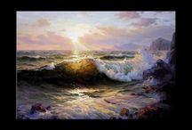 Vídeos pintar el mar