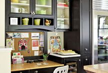 idea for office in kitchen