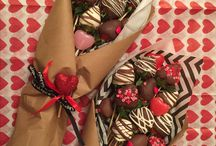 Strawberry chocolate covered