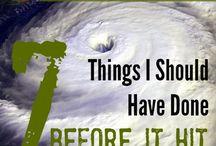 Storm prep tips