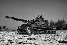 Tiger I, Tiger II, Königstiger