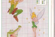 Disney Peter Pan Punto Croce
