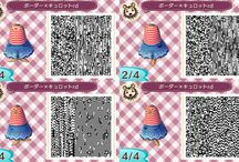 ACNL Qr code Outfits