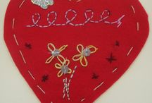 Young Embroiderers / projects from our YE workshops