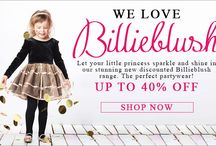 Billieblush / Who doesn't love Billiebliush! Beautiful colours and design which is also popular with a Miss Harper Beckham! All on sale, while stocks last. Miss it miss out!