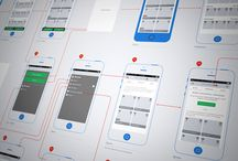 wireframes / user flow
