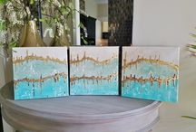 Canvas Art by Lucy Langlois / by Lucy Designs