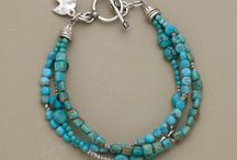 Jewelry - Turquoise / Collection of ideas to use my bits and pieces of turquoise in jewelry