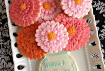 Wrap it, gift it  / Flower cookies and ball jar  / by Erin Buttacavoli