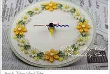 quilled clocks