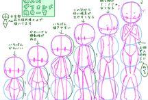 Anime kresby