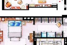 lay out n space planning ...