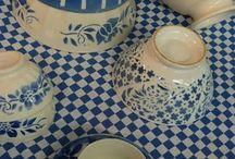 Geschirr / Blue China