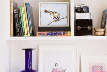 Bookshelves / by Jessica Hendricks