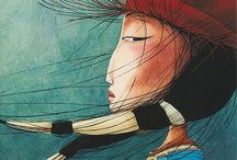 Rebecca Dautremer / Illustratrice Francese (nata 1971)
