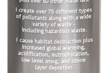 Eco-footprint issues