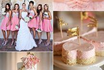 Pallet color bridesmaids dresses / Paletas de cores para madrinhas de casamento