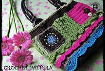 All things crochet -- bags and purses and clutches / by Barbara Hogeland