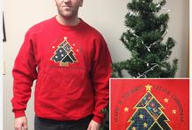 PA Tony's Ugly Christmas Sweater of the Day / So Production Assistant Tony is in a bet with his sister where he has to wear an ugly holiday themed sweater or sweatshirt to work each day until Christmas... This is his journey! / by Local 12/WKRC-TV