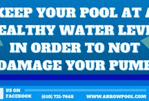 Pool Tips / Pool tips that will help you keep your pool in great condition, lengthen it's lifespan, and allow you to have the best swimming pool experience possible!