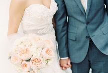 ~ wedding bliss ~ / Inspiration for my Black, Gray, & Blush wedding!