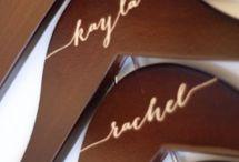 wedding calligraphy / by Lynette Burlison
