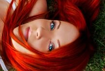 Red head fire hot