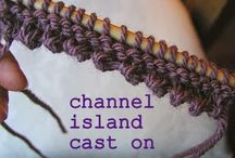 Knitting - Casting on & off