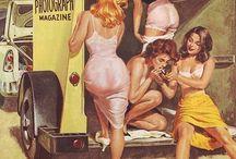 Pin Up Girls/Miss Fluff Claudette Barjoud