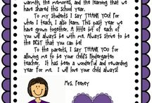 end of year letter ideas
