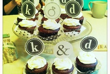 Cupcake toppers for Aug. Wedding